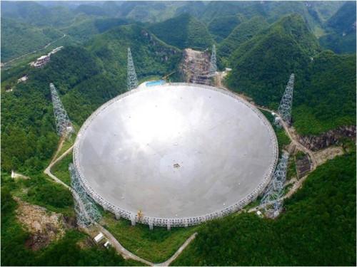 """""""500米口径球面射电望远镜""""项目通过档案验收"""