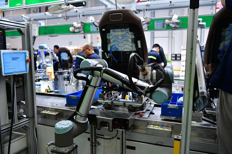 """优傲机器人助力北汽李尔 """"坐享""""人机协作及产业自动化优势"""