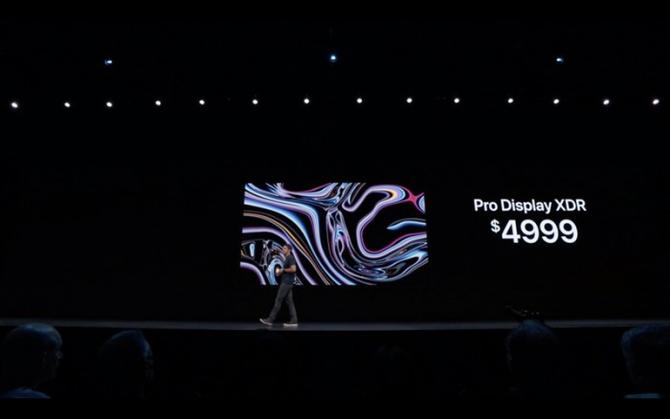 苹果推出6K Pro Display XDR 显示器,售价3.4万起