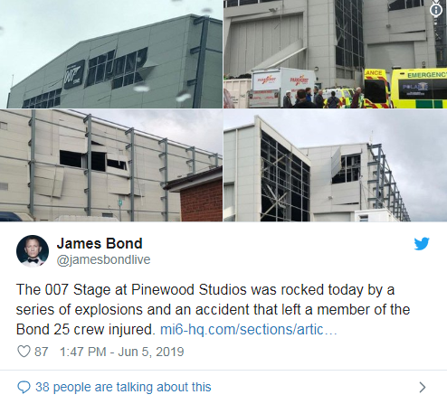 007片场发生爆炸是怎么回事?007片场发生爆炸具体情况一览