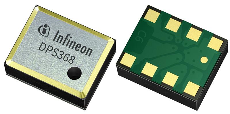 防水、防尘又防潮:英飞凌推出超小型气压传感器DPS368