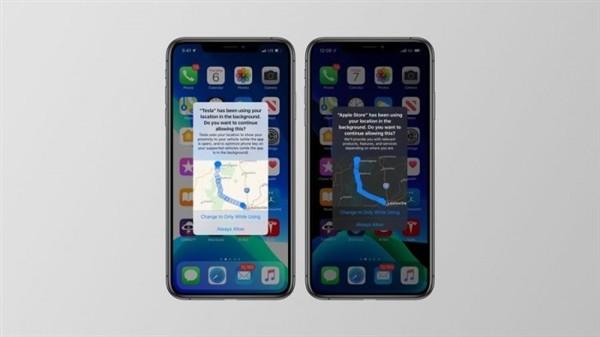 iOS 13更新后:功能上加強了個人隱私的保護
