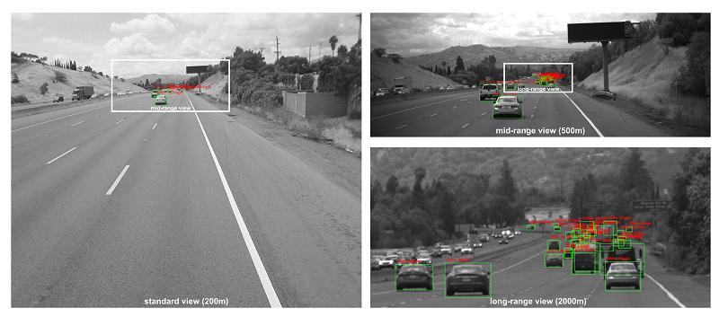 有效距离1600米!智加科技发布全球领先的多目视觉立体感知技术