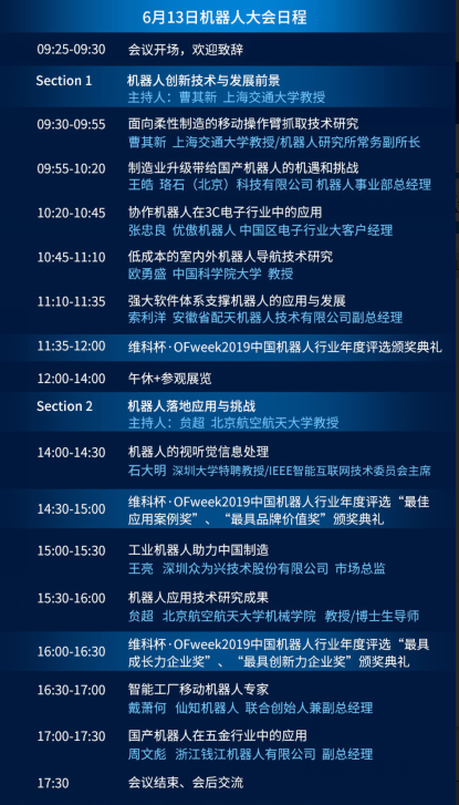 """一文带您了解""""OFweek 2019(第九届)机器人产业大会"""""""