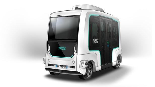 EasyMile推出升级版EZ10无人驾驶公交车,可实现自动驾驶和环境监测功能