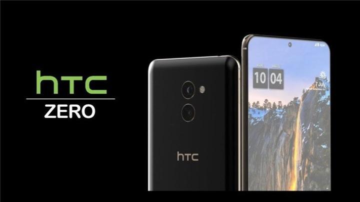 HTC挖孔屏手机ZERO渲染图曝光:屏占比极高