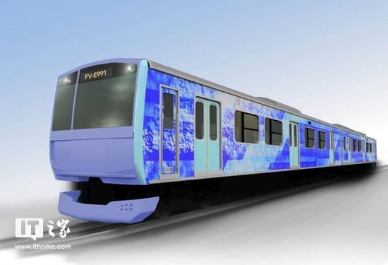 日本將開發氫能源混合列車,最高時速100公里