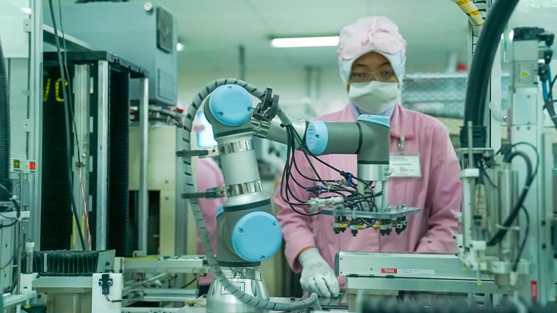 优傲机器人加速PT JVC电子有限公司自动化步伐