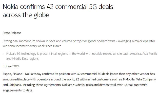 拿下46个5G合同及中移动5G大单!华为将成中国5G建设最大受益者
