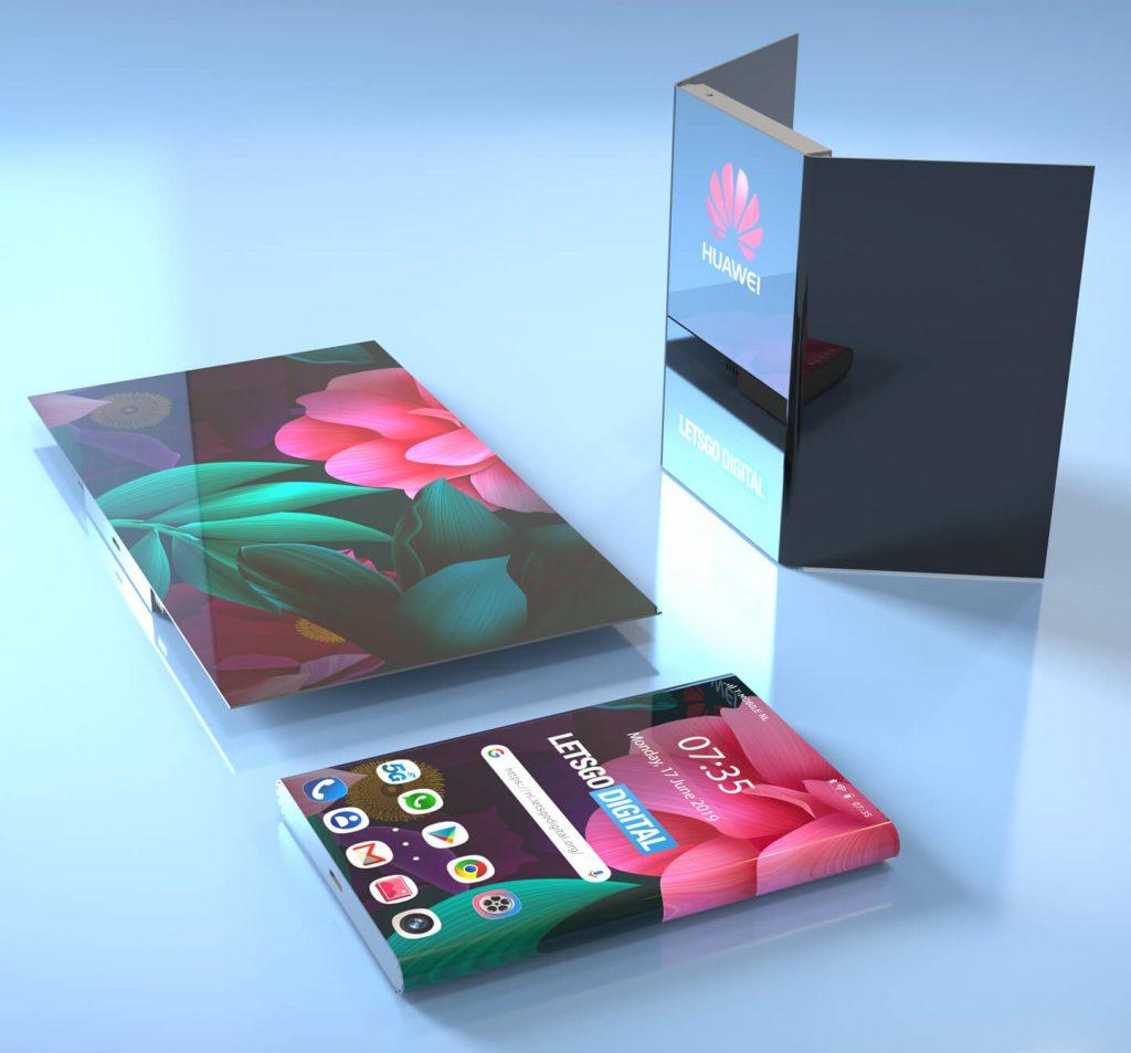 新型可折叠手机将诞生?华为新专利曝光,挑战屏占比极限