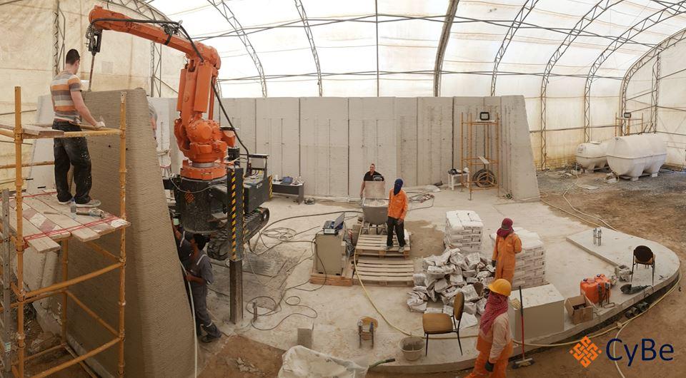 荷兰CYBE将在阿联酋建造3D打印房屋