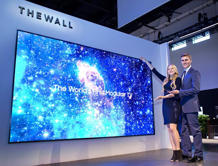 最大292吋8K显示 三星MicroLED电视正式发布!