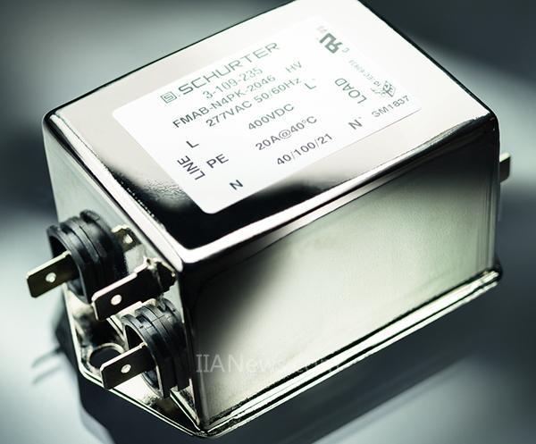 SCHURTER FMAB HV:交流和直流电气设备中的通用型单相EMI滤波器