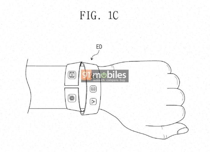 三星柔性显示屏专利曝光,为可穿戴设备设计