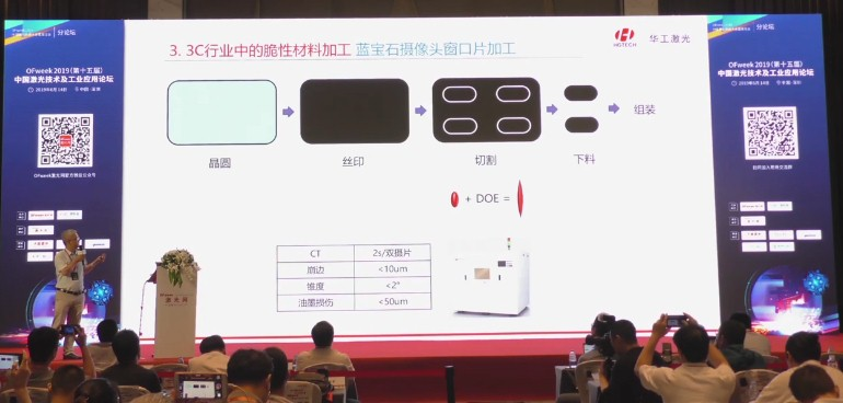 3C行业中的脆性材料激光加工