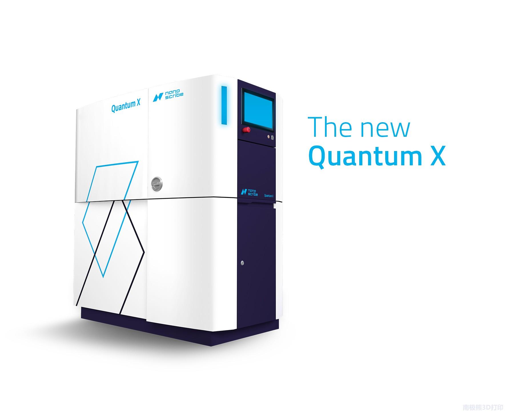 Nanoscribe推出双光子3D打印机Quantum X,可制造200微米光学元件