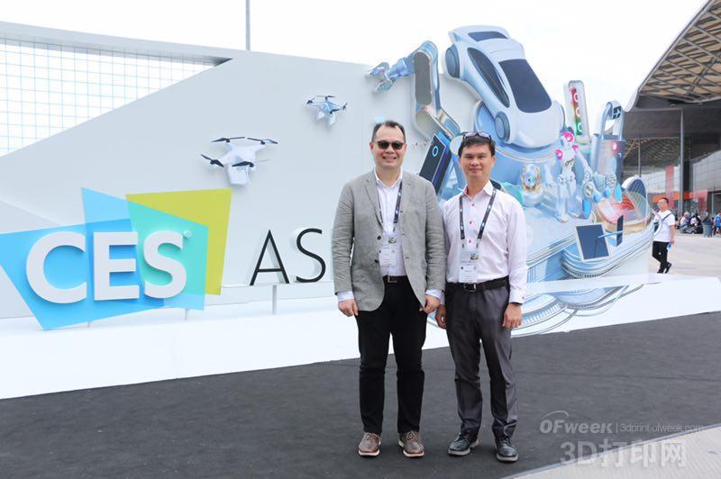 Ultimaker亚太区副总裁陈世蔚:改变传统生产模式,从3D打印开始!