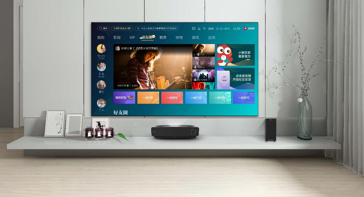 5G时代该怎么看电视?海信激光电视带你爽到飞起