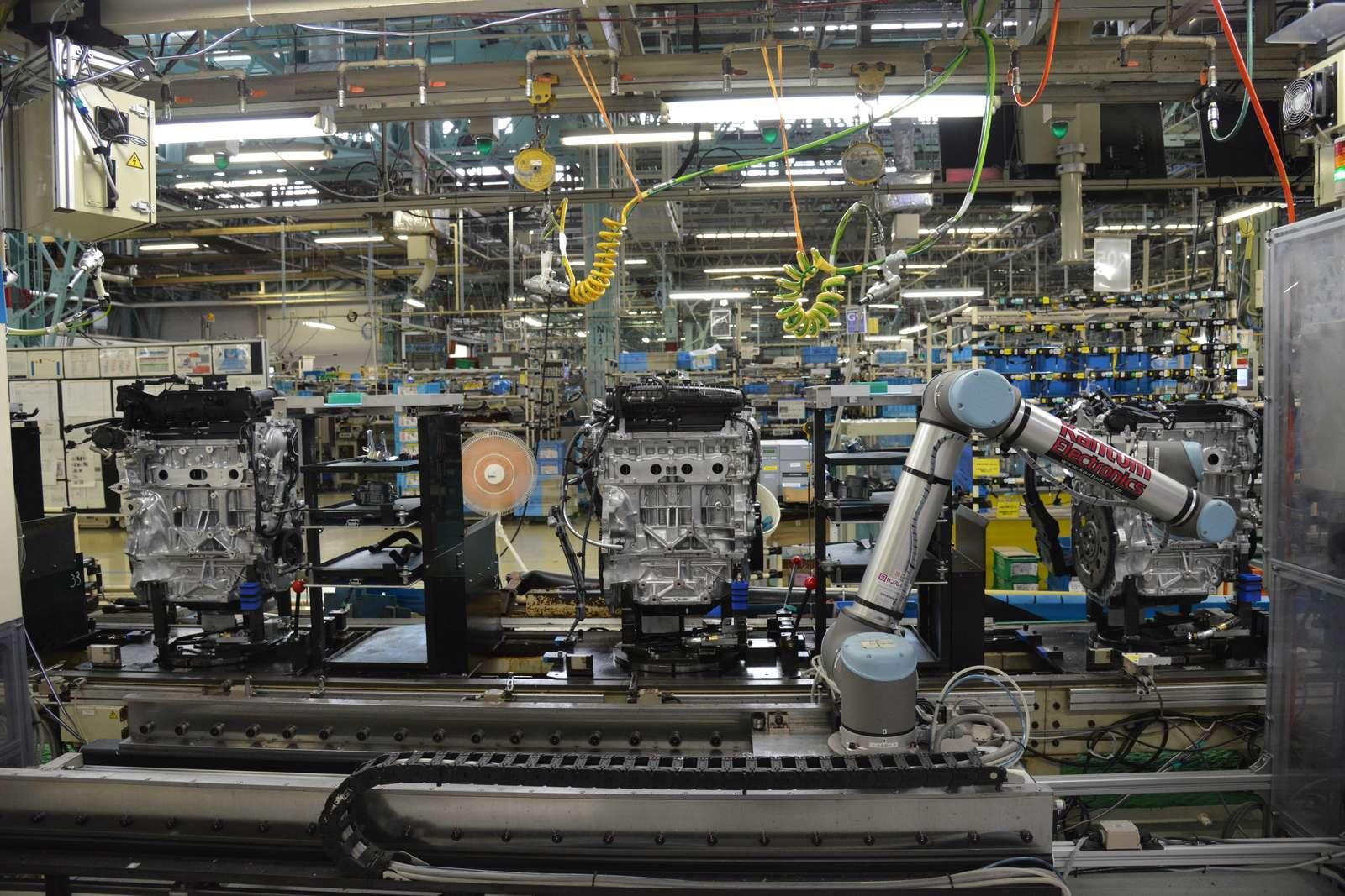 优傲机器人助力日本汽车工厂自动化,解决劳动力短缺及节拍超时问题