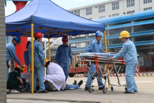 深圳世和湖南分公司氢气泄露事故综合应急演练成功举办