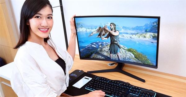 三星发布全球首款27英寸240Hz电竞曲面显示器:3300元