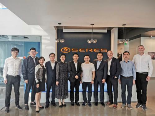 重庆两江新区代表团参观金康新能源硅谷研发中心,肯定科技创新实力