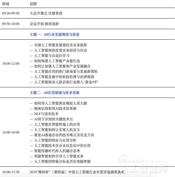 """同济大学教授汪镭确认出席""""景智AI 2019 (第四届)中国人工智能产业大会"""""""