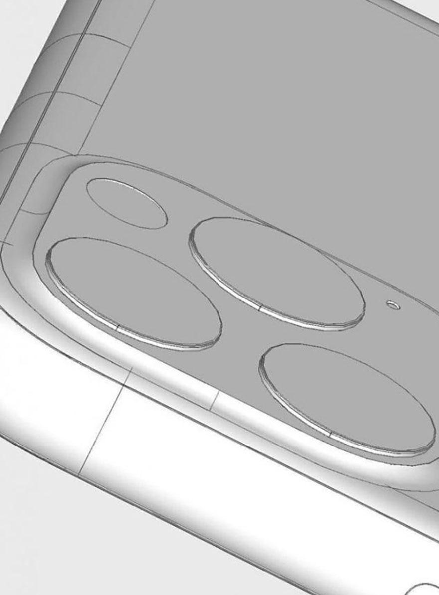 """2019款iPhone渲染图泄露,后置""""浴霸""""摄像头"""