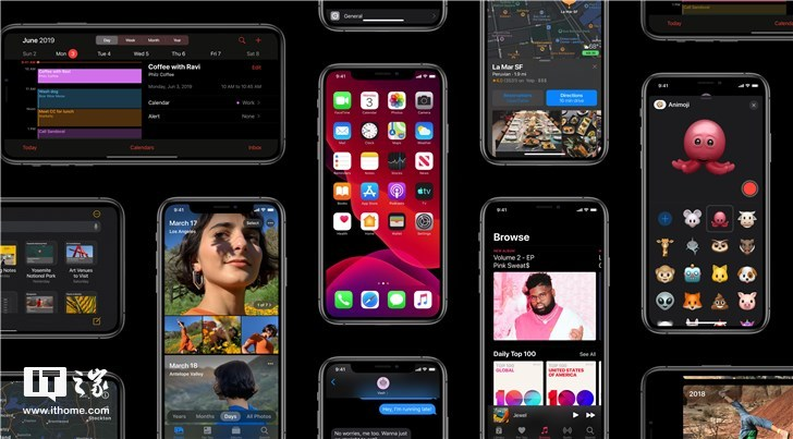 苹果更新iOS 13版本 iOS 13预览版支持哪些机型?