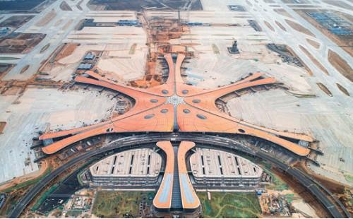 """""""新世界七大奇迹""""榜首-北京大兴国际机场,开关插座采用罗格朗品牌"""