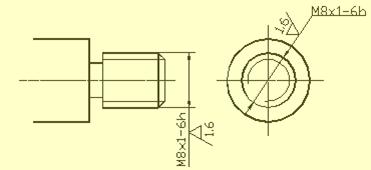 机械设计中尺寸标注知识,教你看懂复杂的机械加工图纸