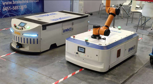 """打造机器人行业""""一流企业"""",博乐恩机器人在路上!"""
