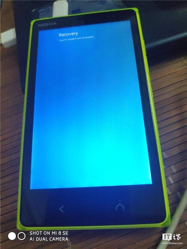 诺基亚神秘安卓手机正在被刷入Windows Phone系统
