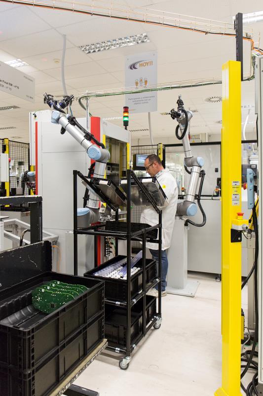 优傲机器人助力西班牙汽车工厂迈向工业4.0