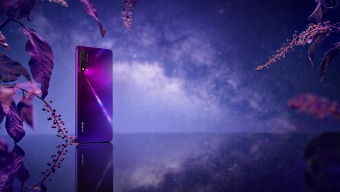 奇幻潮美,手机工艺的新突破!华为nova5系列外观设计看点全解析