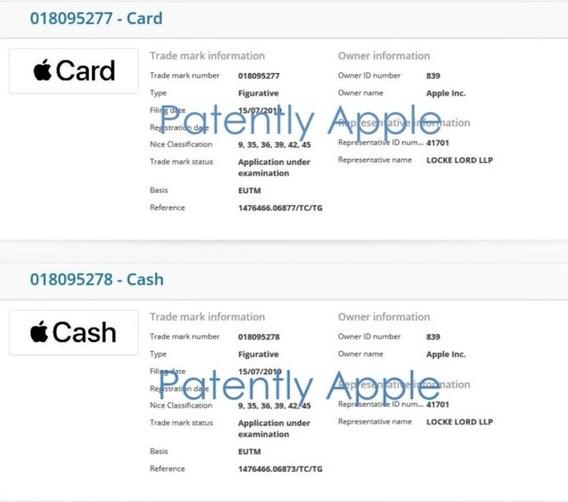 苹果Apple Card将至!正式名称已于香港注册