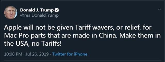 "MacPro等美企产线""逃离""美国,背后原因是什么?"