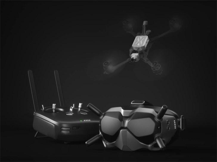 大疆发布DJI FPV数字图传系统:支持4公里图传遥控飞行
