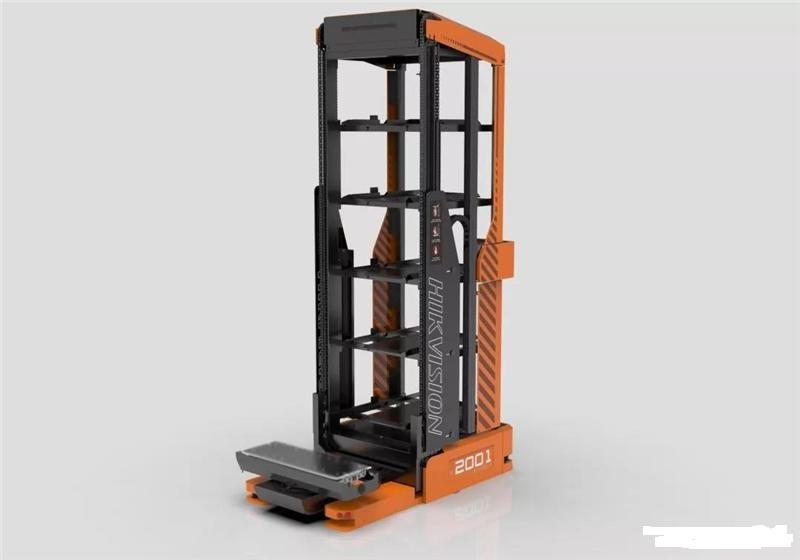 海康威视发布全新货到人系列机器人