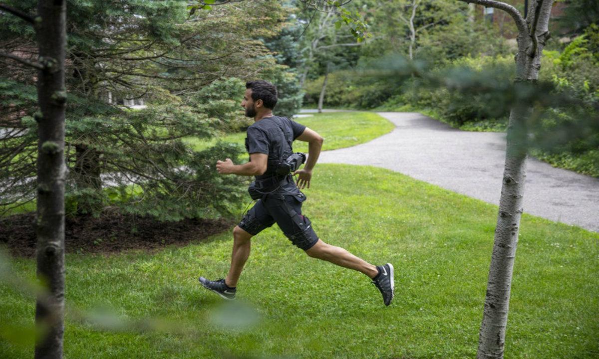 哈佛研究员研发机器人短裤,让行走和跑步更加节能