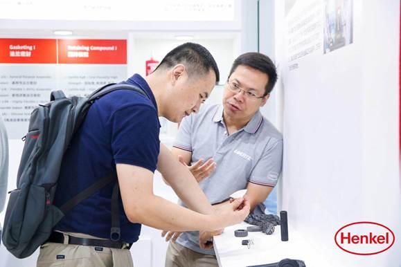 加码机器人组装领域 汉高携全系粘合剂产品盛装亮相2019世界机器人博览会