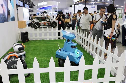 亿嘉和多款机器人盛装亮相2019世界机器人大会