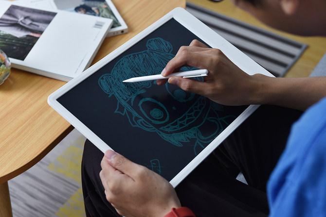 米家液晶小黑板上手:随手涂鸦,老少皆宜