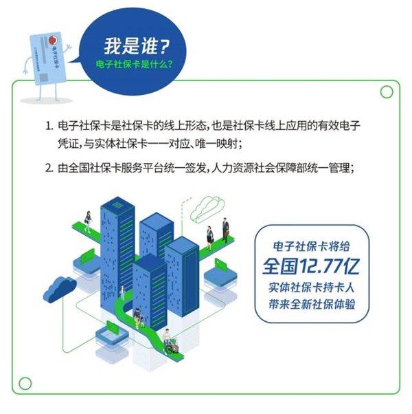 微信领取电子社保卡新增全国多省市支持,看看有你的城市吗