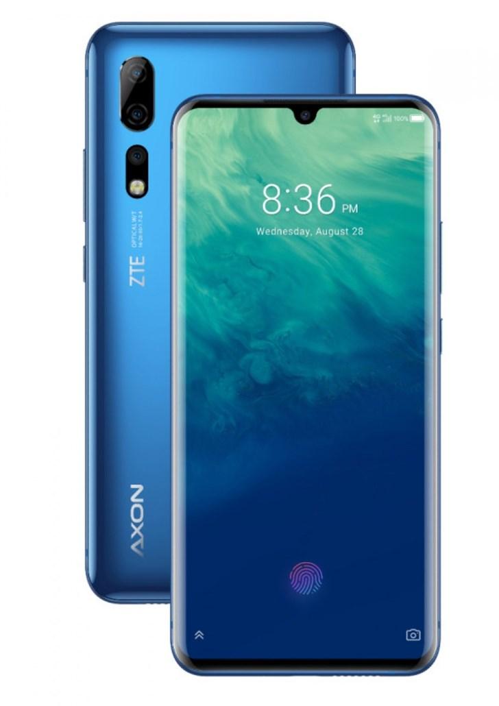 中兴Axon 10 Pro将在美国推出,年底前推出安卓10更新