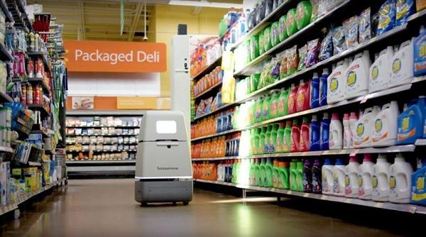 沃尔玛售货机器人上岗:开始取代人类员工