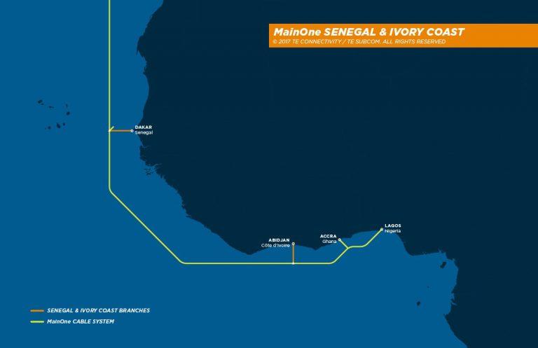 海底光缆系统MainOne将于本月登陆塞内加尔