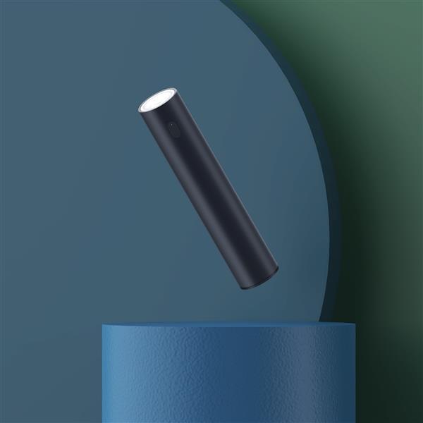 射程可达110m 紫米强光手电筒充电宝上架小米有品