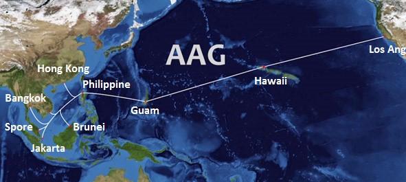 AAG海底光缆系统越南段故障修复推迟至11日
