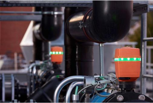 GF管路系统推出智能执行器:实行 阀门的智能限制 和监测